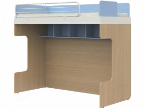 Двухъярусная кровать, без лестницы - 51к029
