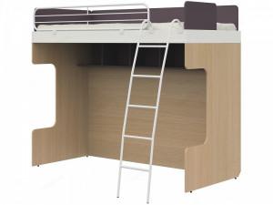 Двухъярусная кровать с лестницей - 51к031