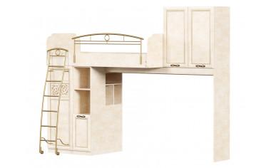Кровать чердак со шкафами - Александрия
