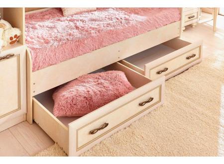 Кровать классическая без матраса, спальное место 80*190 - 510.030 (универсальная)