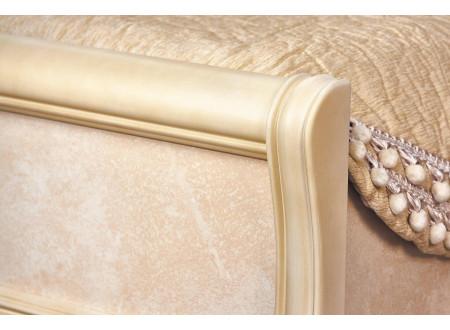 Кровать с резным изголовьем, без матраса, спальное место 90*200 - 625.240 (универсальная)