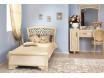 Кровать классическая с резным изголовьем - 90*200 - Александрия