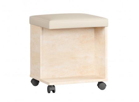 Пуф (банкетка) с мягкой сидушкой, на колесиках - 625.130