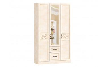 Трех-дверный шкаф с зеркалом - Александрия