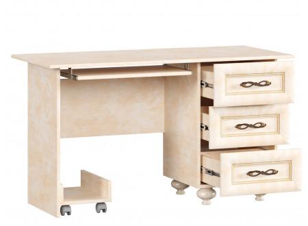 Стол письменный прямой с тумбой - 510.050 (универсальный L / R)