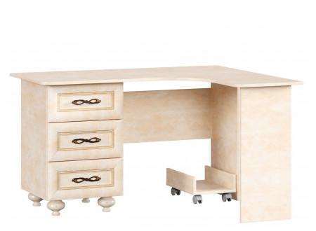Угловой письменный стол с тумбой СЛЕВА - 510.080
