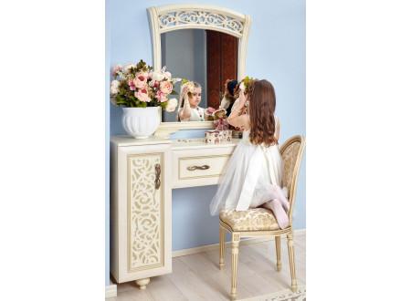 Стол туалетный с одной тумбой - 625.110 (универсальный L / R)