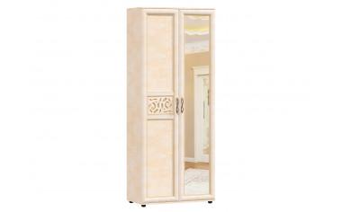 2-х дверный шкаф с зеркалом - прихожая Александрия