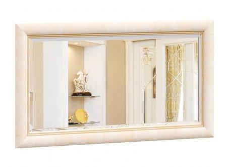 Комод с 3-мя дверками и 3-мя ящиками с настенным зеркалом - ЛД 125.130-140 (набор Александрия-8)