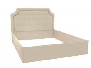 Кровать с мягкой обивкой из ткани, БЕЗ решетки, БЕЗ матраса, спальное место 160*200 - 600.030