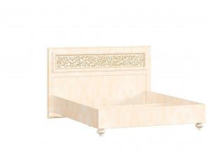 Кровать с прямоугольным изголовьем БЕЗ решетки, БЕЗ матраса, спальное место 140*200 - ЛД 625.020