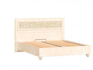 Кровать с прямоугольным изголовьем и с решеткой, без матраса, спальное место 140*200 - 625.021 М