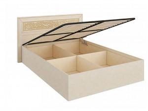 Кровать с прямоугольным изголовьем с подъёмной решеткой, без матраса, сп. место 160*200 - 625.030 М