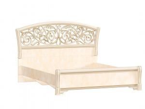 Кровать с изогнутым изголовьем БЕЗ решетки, БЕЗ матраса, спальное место 160*200 - 625.180