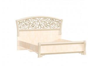 Кровать с изогнутым изголовьем БЕЗ решетки, БЕЗ матраса, спальное место 140*200 - 625.220