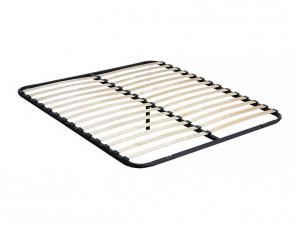 Кровать с изогнутым изголовьем с решеткой, без матраса, спальное место 120*200 - 625.231