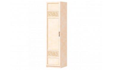 Однодверный шкаф со штангой и полками - спальня Александрия