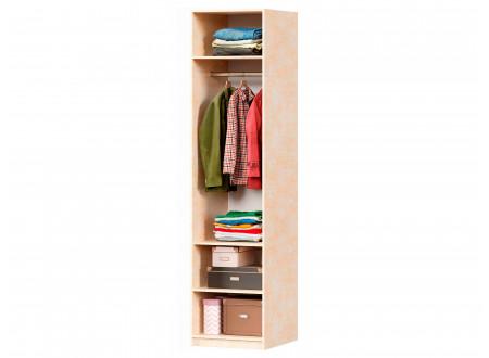 Однодверный шкаф со штангой и полками - 625.041.b (универсальный L / R)