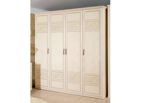 Двух-дверный шкаф со штангой и с полками внутри - 625.051