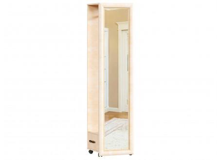 Зеркало напольное, вертикальное на колесиках с вешалкой - 625.140