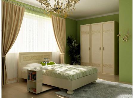Стол подкатной для кроватиили дивана с двумя нишами - 625.150