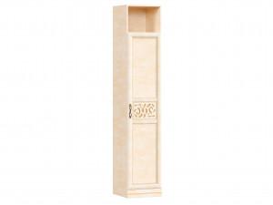 Шкаф 1-дверный с нишей над дверью и с полками внутри - 618.040 (универсальный L / R)