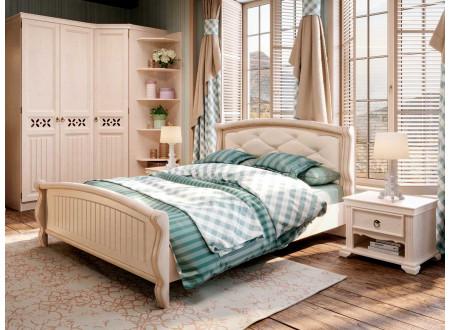 Кровать со спальным местом 180*200, без матраса с подъемным механизмом, со спинкой ППУ - ЛД 642.412
