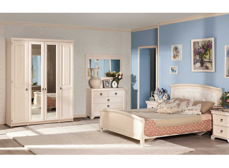 1-дверный шкаф с 2-мя штангами в комплекте - ЛД 642.250.L (петли двери СЛЕВА)