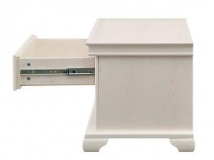Прикроватная тумба с одним выдвижным ящиком - ЛД 642.380