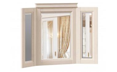 Распашное, тройное зеркало, настенное - ЛД 642.360 - фабрика мебели Любимый дом