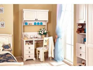 Надстройка-стеллаж для письменного стола с 2-мя дверками - ЛД 642.480