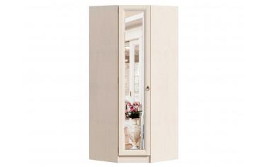 Угловой однодверный шкаф с полками и штангой - ЛД 642.233 - фабрика мебели Любимый дом