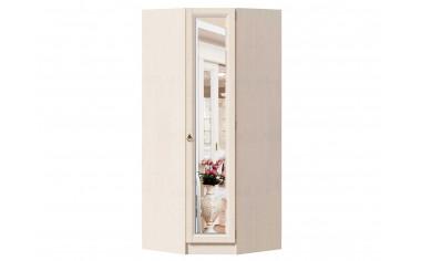 Угловой однодверный шкаф с полками и штангой - ЛД 642.233.R - фабрика мебели Любимый дом
