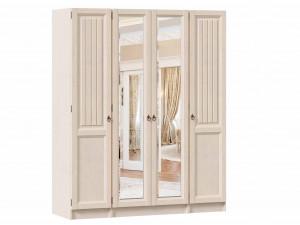 4-х дверный шкаф с зеркалами (комплект из 1дв. шкафа - 2 шт. и 2х дв. шкафа - 1 шт.) - ЛД 642.242.250.250