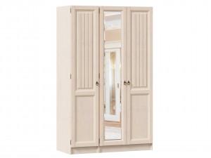 3-х дверный шкаф с зеркалом в центре (комплект из 1дв. шкафа СЛЕВА и 2х дв. шкафа СПРАВА) - ЛД 642.250.244