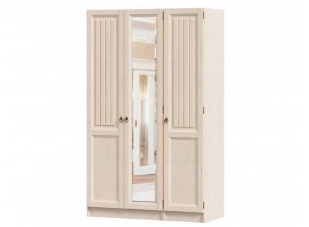 3-х дверный шкаф с зеркалом в центре (комплект из 1дв. шкафа СПРАВА и 2х дв. шкафа СЛЕВА) - ЛД 642.243.250
