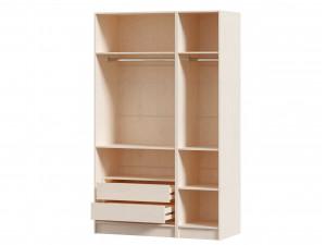 3-х дверный шкаф (комплект из 1дв. шкафа СПРАВА и 2х дв. шкафа СЛЕВА) - ЛД 642.240.250