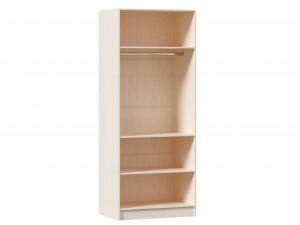 2-х дверный шкаф, с 2-мя штангами внутри, без полок - ЛД 642.240