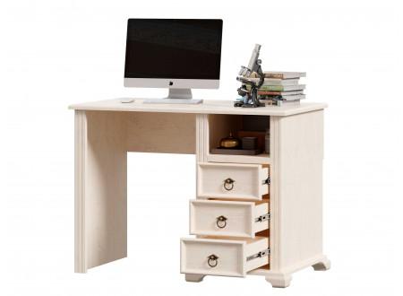 Стол письменный с одной тумбой СПРАВА, с 3-мя ящиками - ЛД 642.520.R