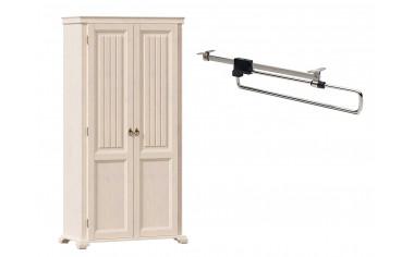 Двух-дверный шкаф со штангой - ЛД 642.304 - фабрика мебели Любимый дом