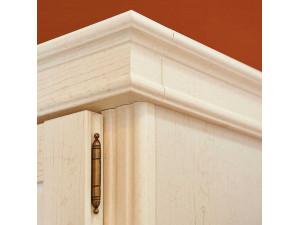 1-дверный шкаф, дверь СТЕКЛО, с 4-мя полками - ЛД 642.043 (петли двери СЛЕВА)