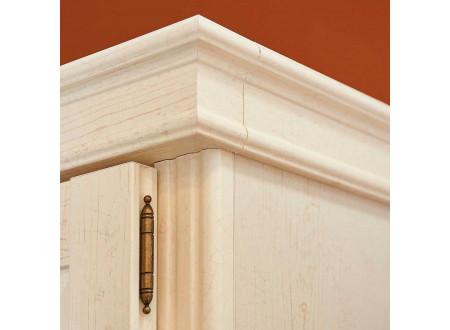 2-х дверный шкаф, со ШТАНГОЙ для одежды и без полок - ЛД 642.304