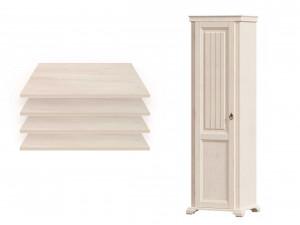 1-дверный шкаф, с 4-мя ПОЛКАМИ - ЛД 642.041 (петли двери СЛЕВА)
