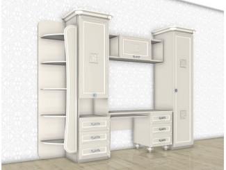 Набор мебели для девочки - уголок школьника - БЬЯНКА - (скидка 35%)