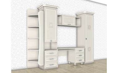 Набор мебели для девочки - уголок школьника - БЬЯНКА - (скидка 45%)