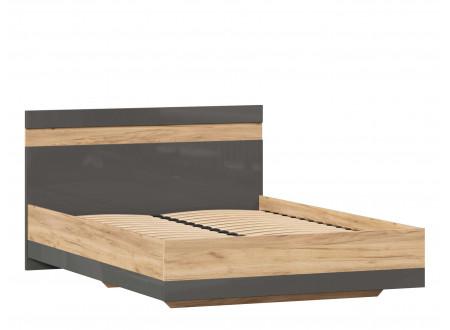 Кровать со сп. местом 140*200, с решеткой и без матраса - (659.074.А)
