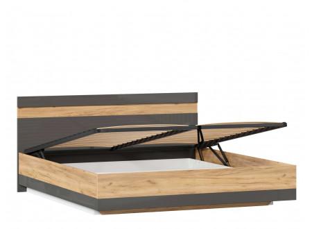 Кровать со сп. местом 180*200, с подъемной решеткой и без матраса - (659.077.А)