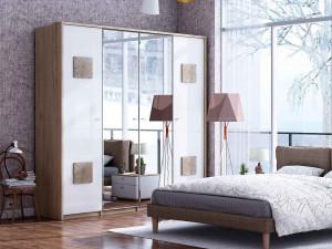 Вертикальное паспарту (декоративная боковина) для шкафов Фиджи высотой 2356мм - (659.250L)
