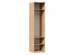 Шкаф 1-дверный с 6-ю полками и со штангой в комплекте - петли СЛЕВА - (659.221.L)