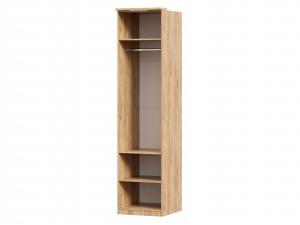 Шкаф 1-дверный с 6-ю полками и со штангой в комплекте - петли СПРАВА - (659.221.R)